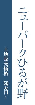 ニューパークひるが野 土地販売価格 58万円~