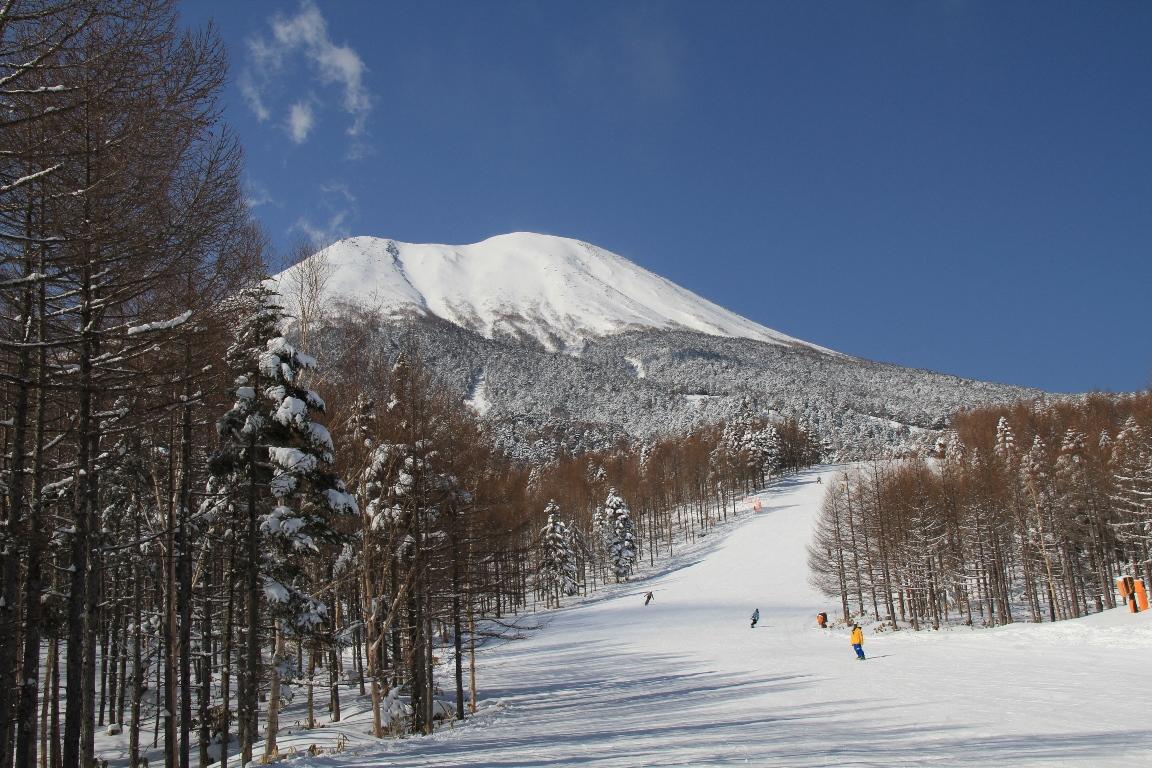 開田高原マイアスキー場(15km)