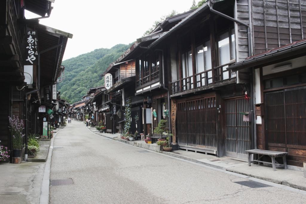 奈良井宿(37km)