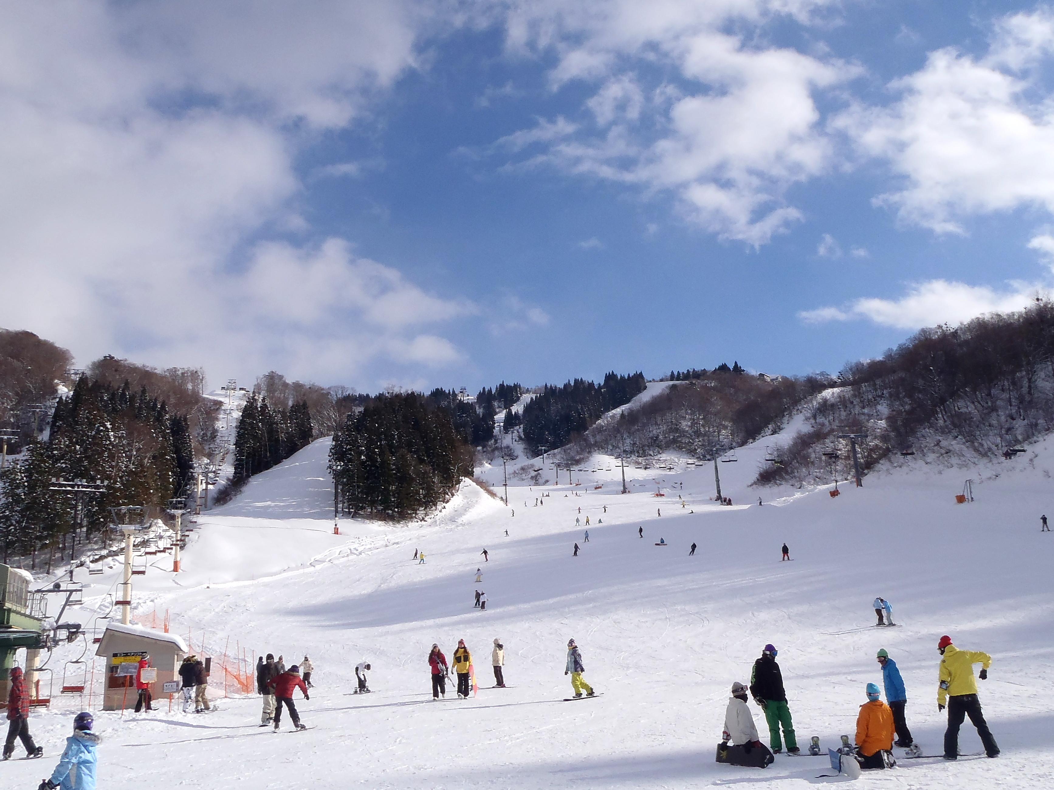 ホワイトピアたかすスキー場(13.5km)