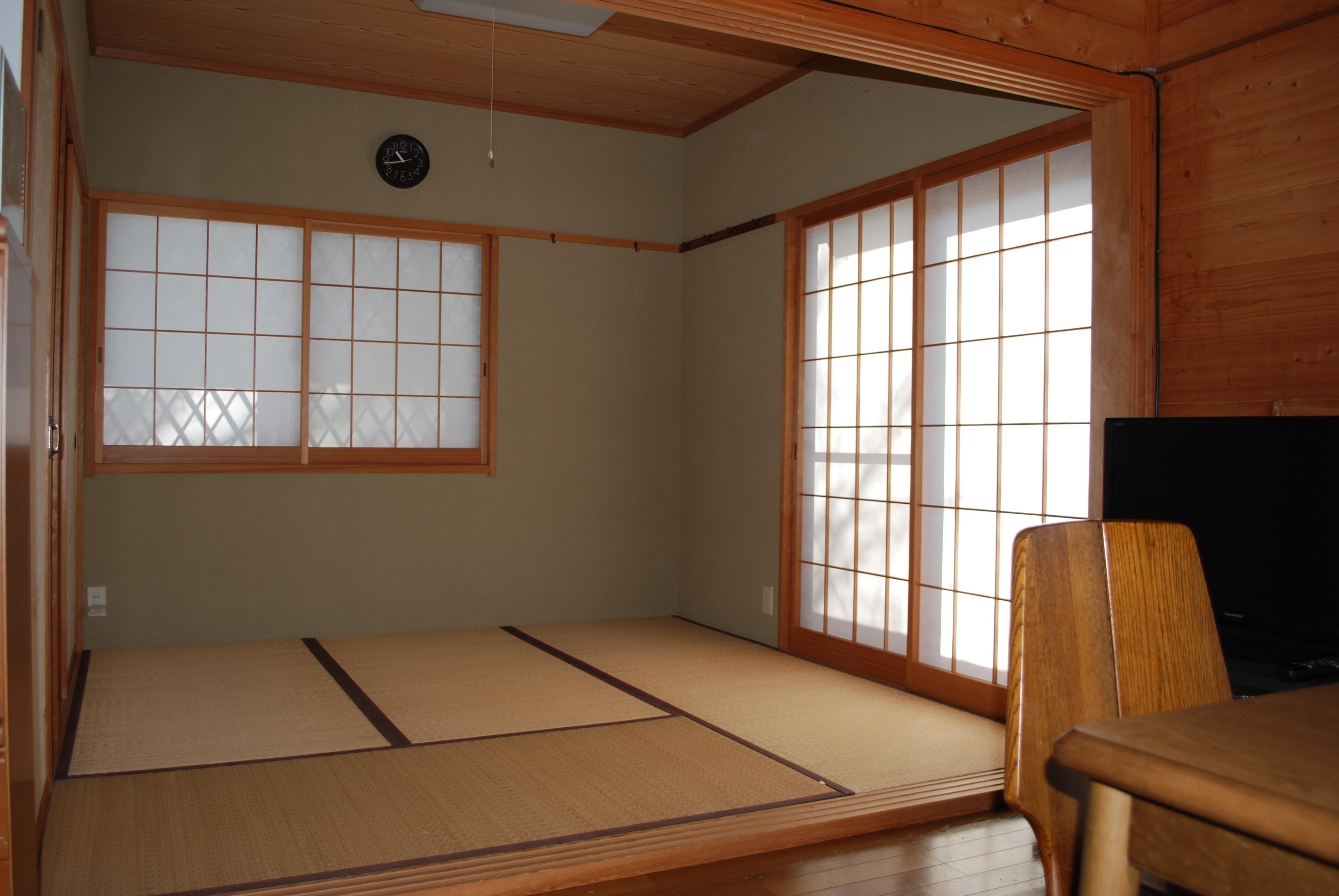 リビングから和室をみたところです。